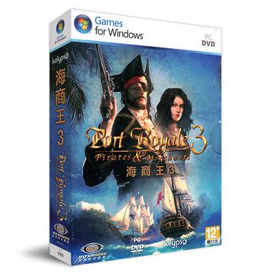 【軟體採Go網】PCGAME★新品現貨供應★海商王3 Port Royale 3: Pirates and Merchants 英文版