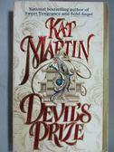【書寶二手書T3/原文小說_ODO】Devil s Prize_Kat Martin