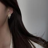 高級感超閃精致鋯石耳環女時尚耳釘氣質耳飾品【小酒窝服饰】