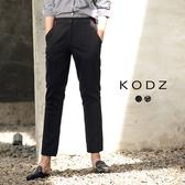 東京著衣【KODZ】歐美流行修身圖紋設計老爺褲-S.M.L(172396)
