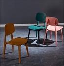 餐廳椅 宜家椅子靠背凳子網紅椅北歐塑料創意餐椅現代簡約家用ins風 鉅惠85折