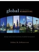 二手書博民逛書店《Global marketing : foreign entry, local marketing, & global management》 R2Y ISBN:0071244549