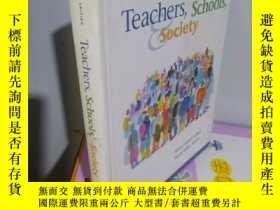 二手書博民逛書店實物拍照;Teachers罕見schools societyY15389
