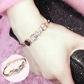 love愛情的結晶歐美日韓版甜美簡約飾品首飾學生手?手飾手鐲女 一次元