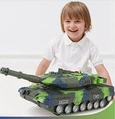 汽車模型 坦克玩具車兒童男孩履帶小汽車車軍事戰車1一2歲寶寶模型3-4越野6【快速出貨八折鉅惠】