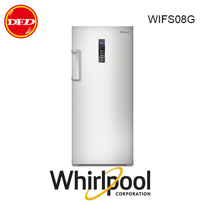 惠而浦 WHIRLPOOL WIFS08G 直立式冰櫃 210L 台灣惠而浦公司貨  ※運費另計(需加購)
