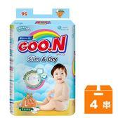 大王GOO.N 黏貼型紙尿褲-國際版大包裝 L (56片)x4串/箱