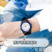 手錶男童女童指針數字防摔防水夜光簡約卡通兒童小學生原宿風電子 可然精品