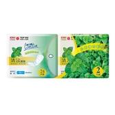 康乃馨清涼護墊一般型15cm X24片X2包【愛買】