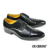 【CR Cerini】橫飾雕花德比紳士鞋(79081-BL)