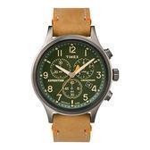 TIMEX 天美時 三眼計時 手錶(TXT4B04400) Scout Chrono  綠面