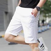 休閒短褲 短褲男休閒中褲子男士五分褲男裝寬鬆沙灘褲潮流大褲衩   傑克型男館