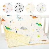 Muslintree-嬰兒卡通全棉泡泡被抱 寶寶安撫抱推車蓋毯-JoyBaby