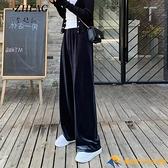孕婦褲子春秋款外穿闊腿褲夏季薄款寬松時尚打底褲春夏孕婦裝春裝【小橘子】