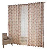 半遮光窗簾成品簡約臥室客廳碎花田園落地飄窗簾紗布定制 雙12鉅惠交換禮物