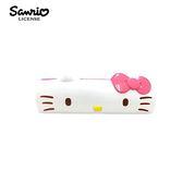粉色款【日本正版】凱蒂貓 攜帶型 清潔滾輪 可水洗 隨手黏 除塵滾輪 Hello Kitty 三麗鷗 Sanrio - 029496