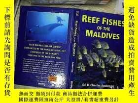 二手書博民逛書店REEF罕見FISHES OF THE MALDIVES 馬爾代