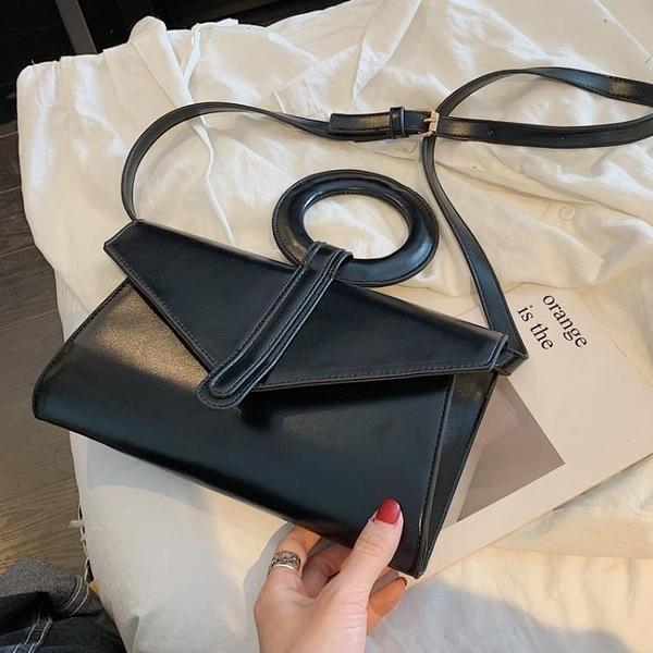 高級感包包洋氣女包2020夏新款潮韓版百搭斜挎包時尚法國小眾包包 【端午節特惠】