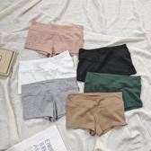 不勒腰不勒腿棉質防走光安全褲親膚百搭內搭打底短褲寬腰平角褲 解憂雜貨鋪