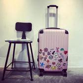 聖誕節狂歡 20吋行李箱拉桿箱女萬向輪旅行箱啞光 東京衣櫃