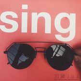 情侶潮人多邊形炫彩防曬墨鏡太陽眼鏡