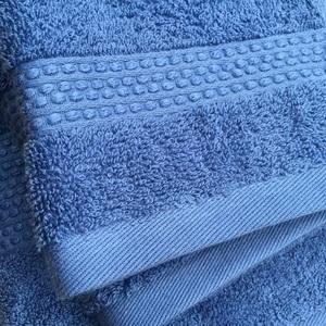 葡萄牙進口毛巾40x70cm-素色藍 兩入組