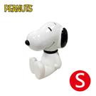 【日本正版】史努比 S號 坐姿 存錢筒 公仔 儲錢筒 小費箱 Snoopy PEANUTS - 031378