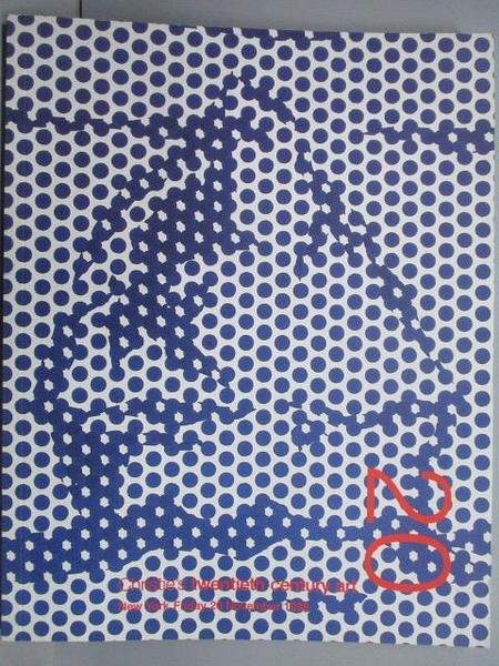 【書寶二手書T7/收藏_PME】Christie s_Twentieth Century Art_1998/11/20