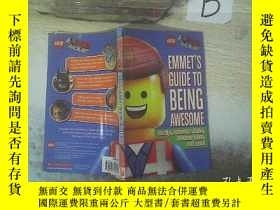 二手書博民逛書店EMMET S罕見GUIDE TO BEING AWESOME 艾美的《了不起的指南》Y261116