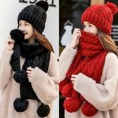 女冬天加絨保暖毛線帽