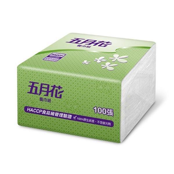 【南紡購物中心】五月花 13吋餐巾紙100張x24包