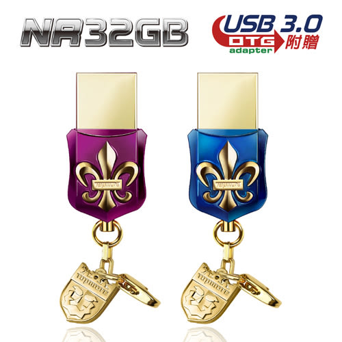 達墨 TOPMORE NR Crystal  USB3.0 32GB 精品寶石隨身碟