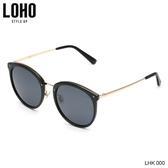 LOHO新款太陽鏡女防紫外線近視墨鏡圓臉時尚眼鏡女韓版潮偏光鏡