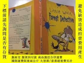 二手書博民逛書店little罕見wolf forest detective 小狼森林偵探Y212829