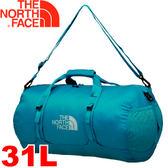 【The North Face 輕量多功能側背包 31L 瓷釉藍】ATTR/輕量背包/旅行包/收納包★滿額送
