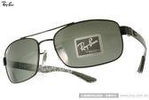 RayBan 太陽眼鏡 RB8316 002N5 (黑) 個性時尚帥氣飛官偏光款 # 金橘眼鏡