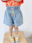 女童牛仔短褲2020新款夏裝洋氣中小童夏季兒童韓版外穿百搭熱褲薄 貝芙莉
