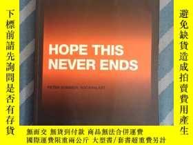 二手書博民逛書店HOPE罕見THIS NEVER ENDS 2015【看圖】Y2