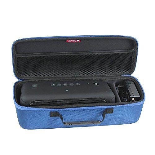 【美國代購】Hermitshell硬殼EVA旅行紅色外殼適合索尼XB40便攜式無線揚聲器藍牙 適充電器 藍