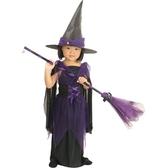 紫魔女巫婆裝【愛買】