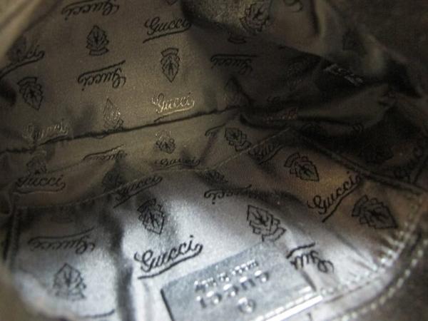 【巴黎站二手名牌專賣店】*現貨*GUCCI 真品*197051 經典Bamboo系列GG漆皮竹節小手提包