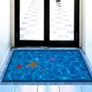 3D地貼 3D立體地貼創意衛生間廁所地面瓷磚裝飾地板仿真餐廳防水貼紙 jy【快速出貨八折鉅惠】