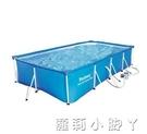 泳池Bestway超大號免充氣支架游泳池 成人家用小孩兒童戲水池加厚加高 NMS蘿莉小腳丫