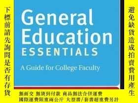 二手書博民逛書店General罕見Education Essentials: A Guide for College Facult