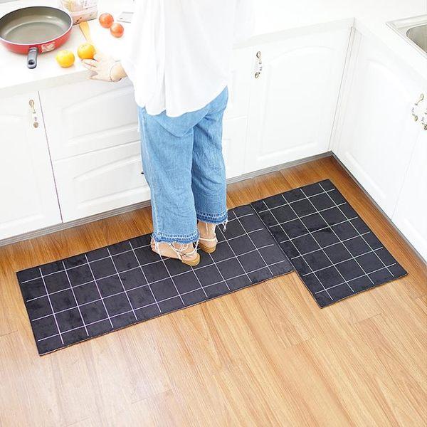 衛生間地墊家用墊子長條墊加厚衛浴吸水腳墊防油防滑廚房地墊地毯『櫻花小屋』