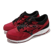 Mizuno 慢跑鞋 Maximizer 23 紅 黑 男鞋 網布 透氣輕量 美津濃【ACS】 K1GA2100-62