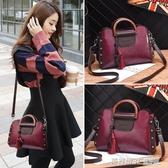 小包包女包新款百搭單肩包韓版潮時尚復古手提包大容量斜背包  英賽爾