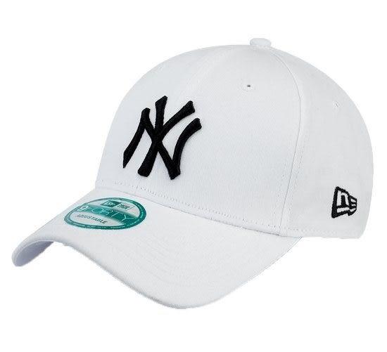 【蟹老闆】New Era NY 洋基老帽 LOGO 9Forty Cap 老帽 白色 真品 IG 網紅必備