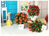 仿真水果盆栽家居隔斷擺放假花裝飾花客廳餐桌茶幾擺件裝飾品 鉅惠兩天【限時八五折】