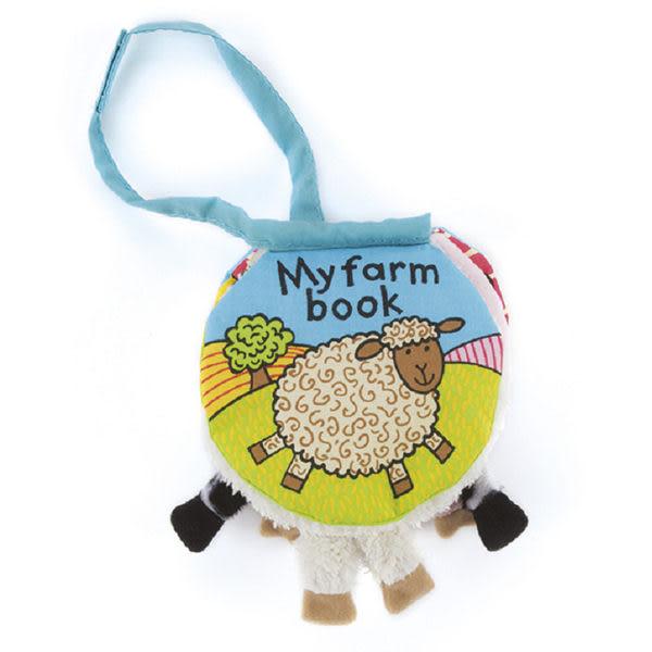 英國JELLYCAT Book 感官刺激布書-我的小農莊